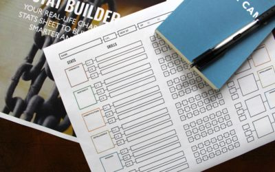 "Master New Habits Faster With Your Real-Life ""Character Stat Sheet"""